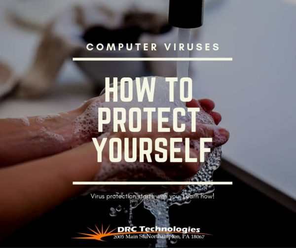 how to protect yourself from computer viruses picture of hands washing