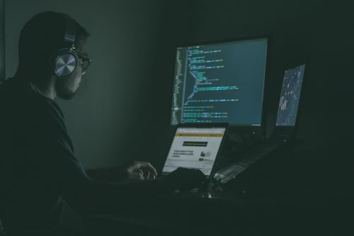 Man-coding-or-hacking-computer